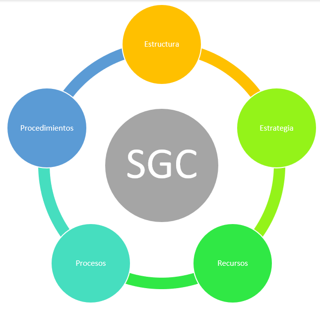 Elementos del sistema de gestión de la calidad
