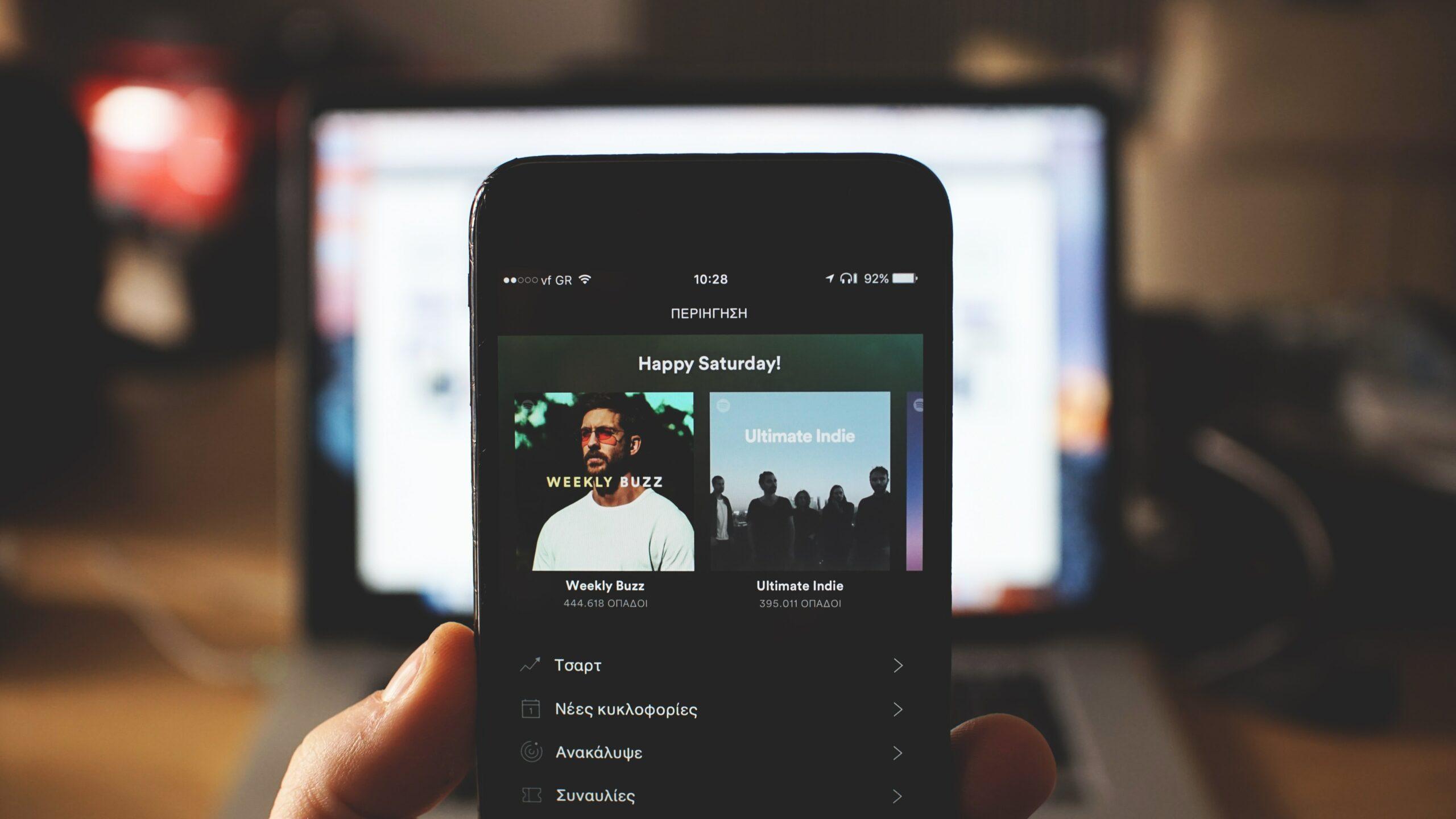 Spotify realiza una playlist personalizada si escucho música clásica, reggaetón, banda, pop ochentero en español y dark metal como mi top 5.