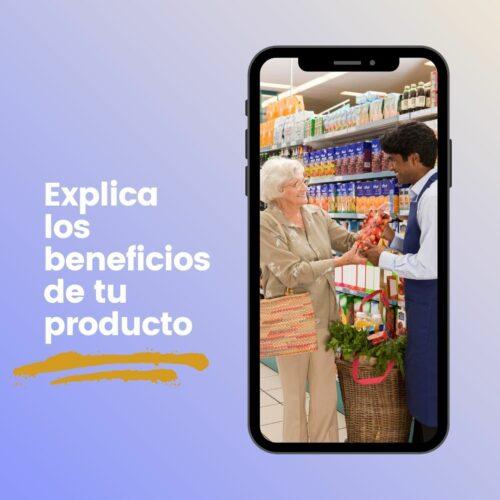 Explica los beneficios de tu producto