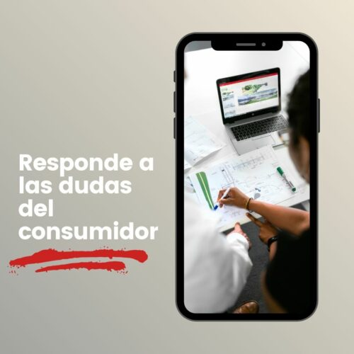 Responde a las dudas del consumidor