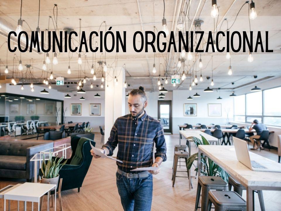 Portada de Comunicación organizacional