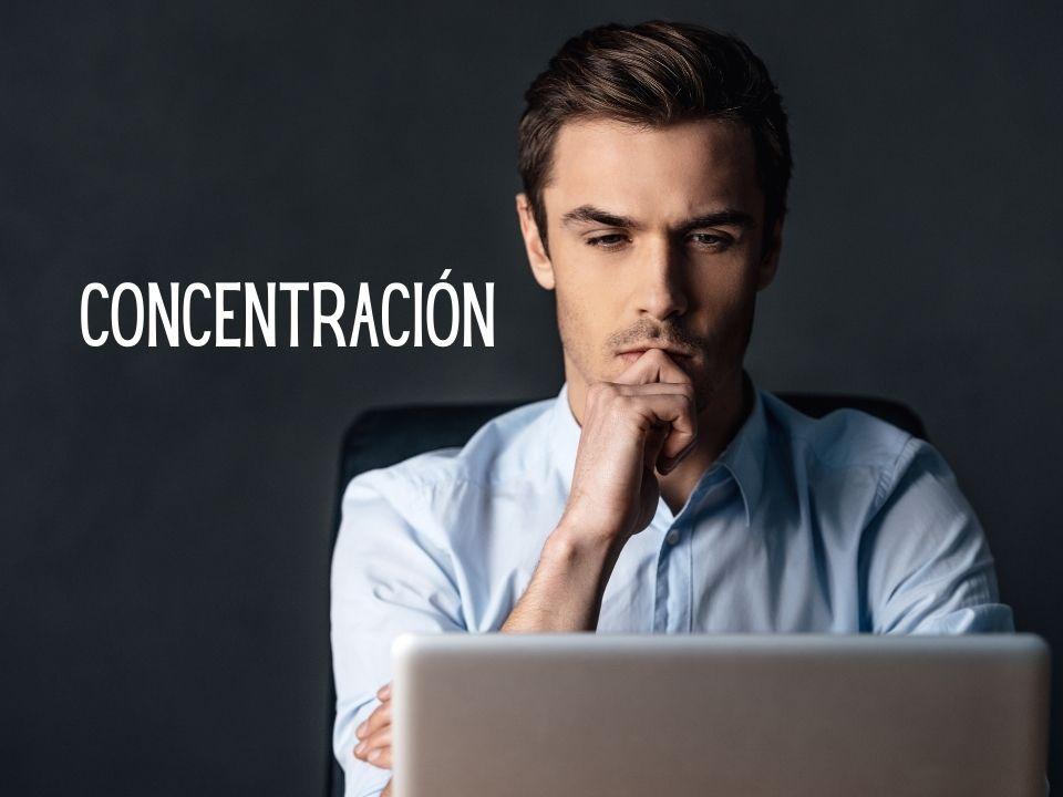 Portada de Concentración